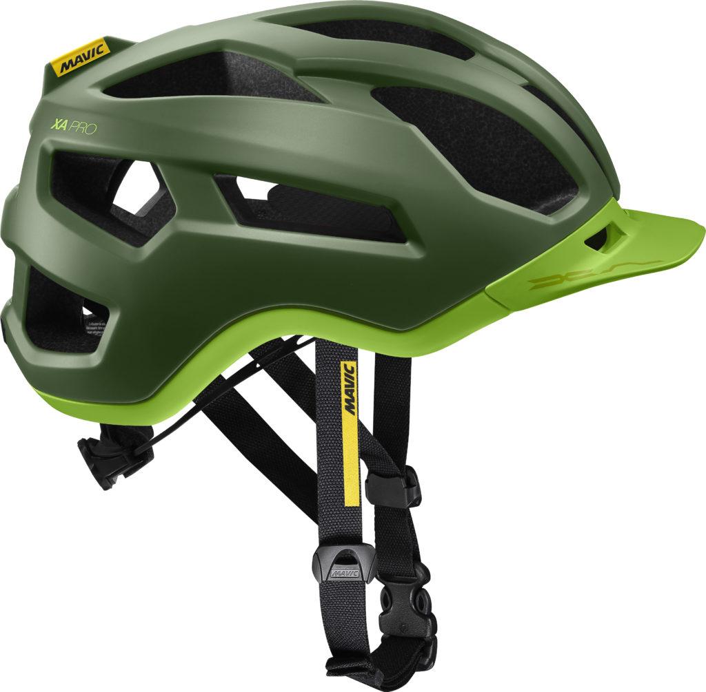Il casco in colorazione Lime...