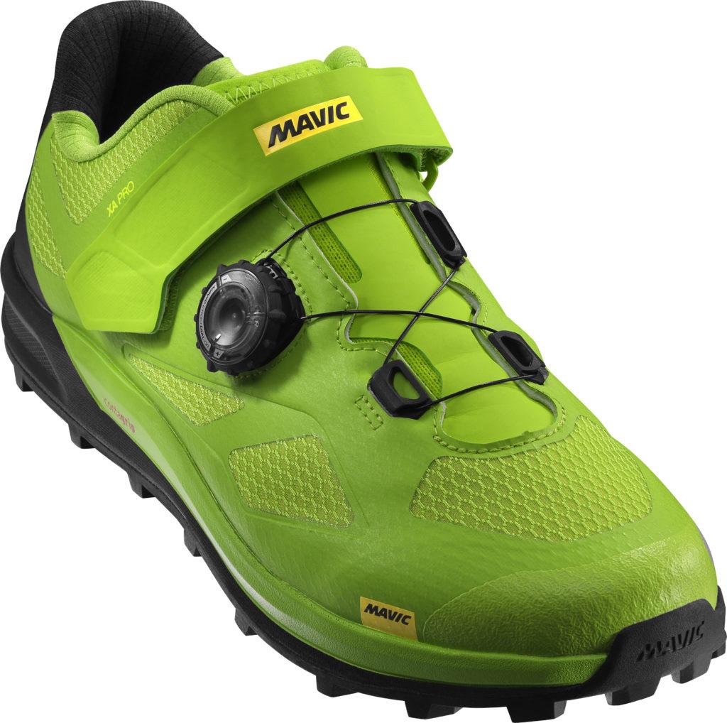 La scarpa in colorazione Lime...