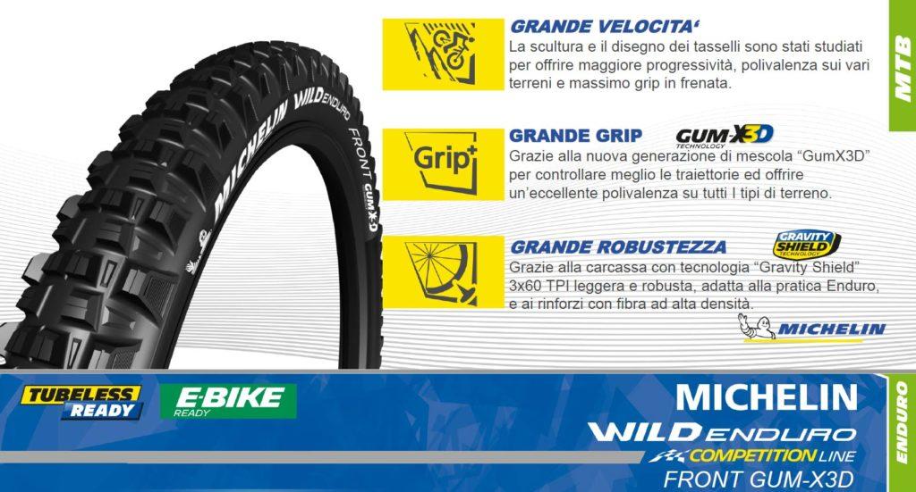 Michelin Wild Enduro Front Gum-X