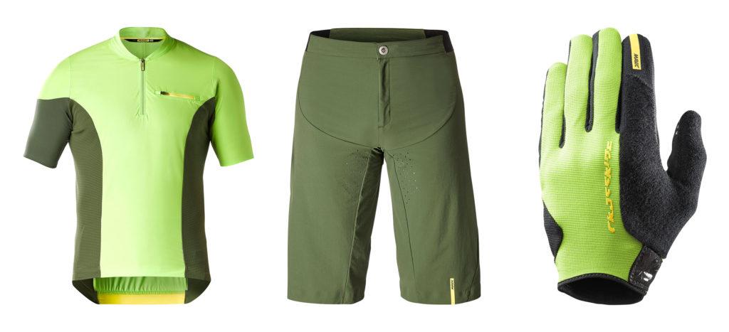 Ci sono anche maglie e pantaloni da combinare con i scarpe e casco XA Pro