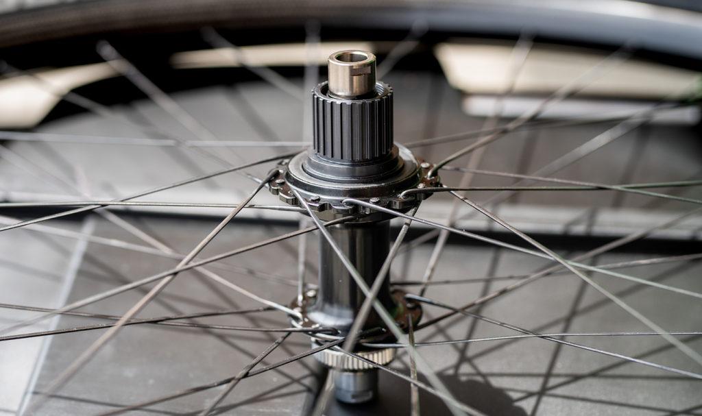 Il corpo ruote libera Micro-Spline