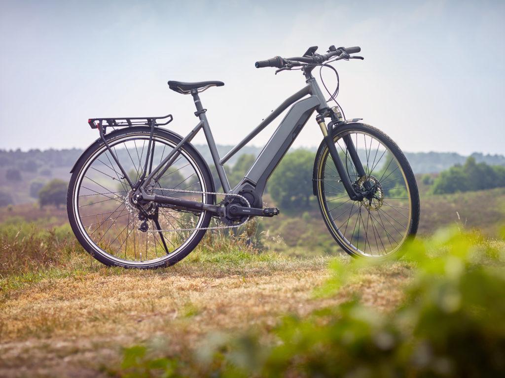 Una bici con il nuovo Shimano Steps E6100