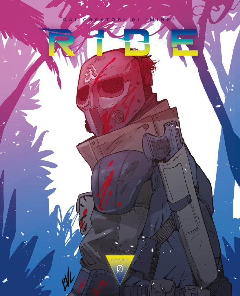 La copertina del fumetto realizzata da Giacomo Bevilacqua