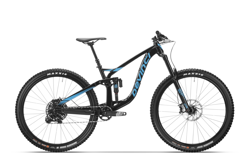 Devinci Spartan Alloy 29 - Gloss Black Blue