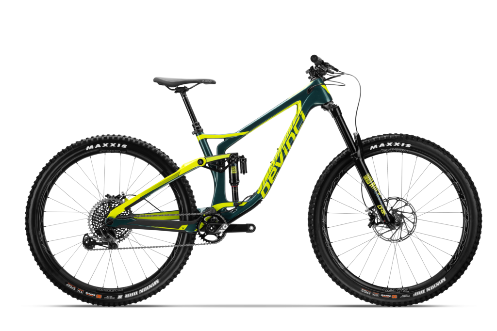 Devinci Spartan Carbon 29 - Gloss Green Yellow