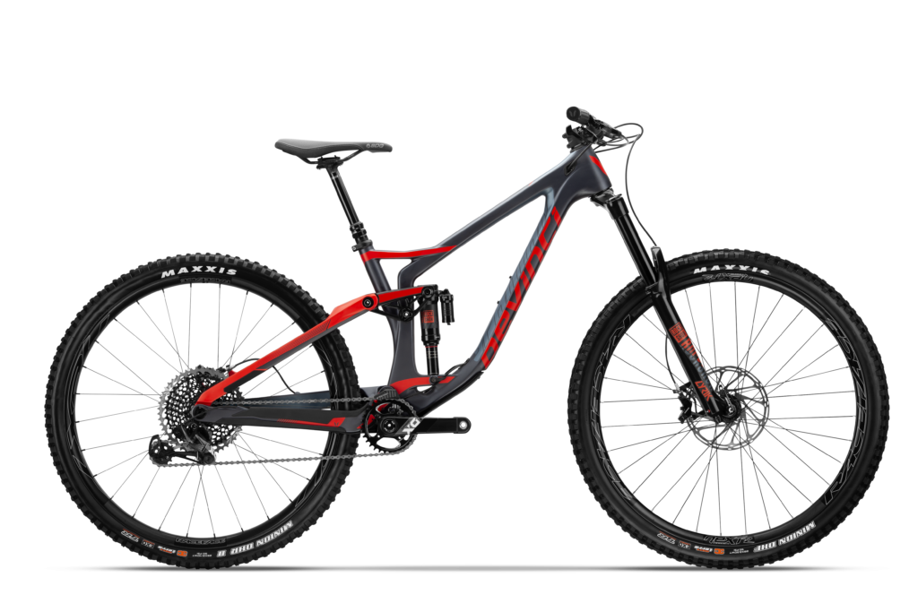 Devinci Spartan Carbon 29 - Matte Tecto Red