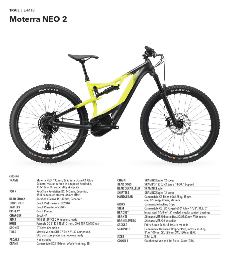 Cannondale Moterra Neo 2 - 4.999,00 €