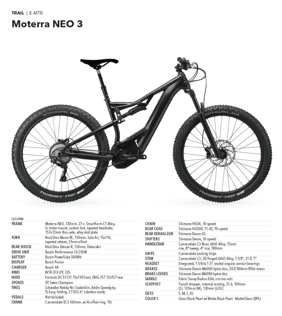 Cannondale Moterra Neo 3 - 4.199,00 €