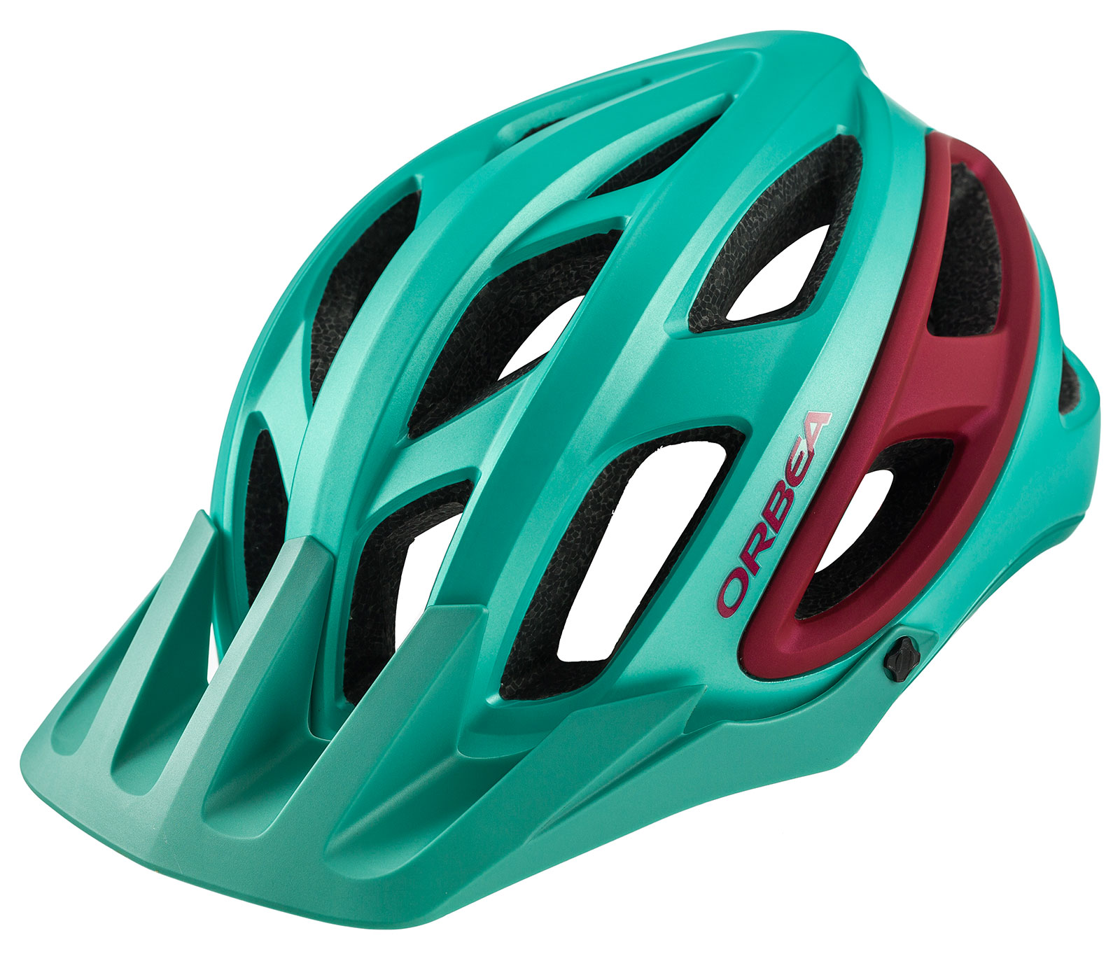 Casco Orbea M50 Green/Red