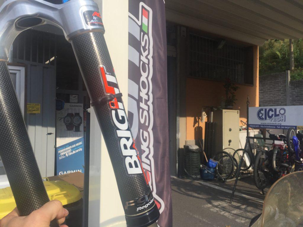 Il negozio Ciclotech di Frascati (RM)