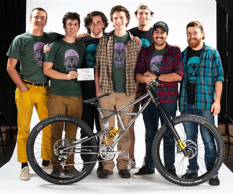 Cal Poly Bike Builders - Titanium Joe Award