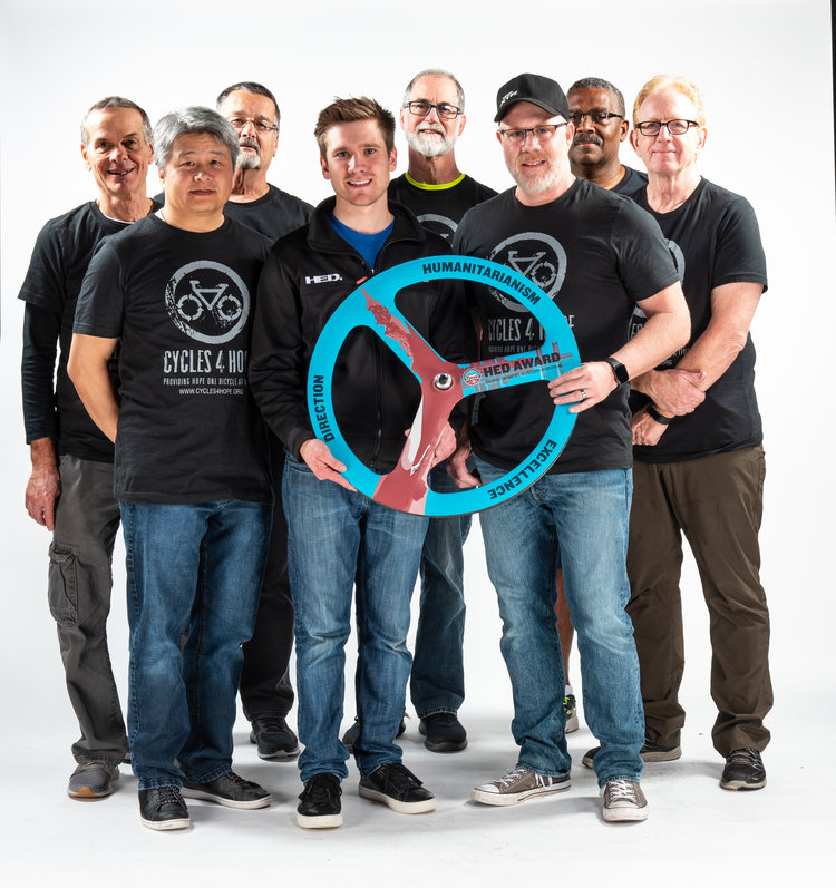 Cycles For Hope - HED Humanitarian Award