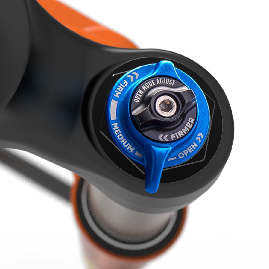 Fox 32 Step-Cast: il pomello della compressione