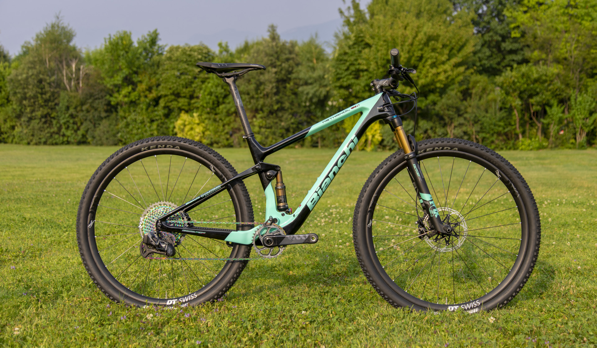 Bicicletta Bianchi Mtb
