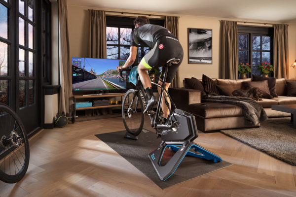 Garmin Connect e App Tacx