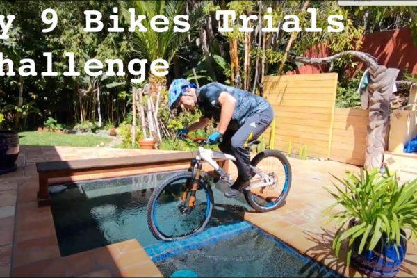 Hans Rey 9 bikes
