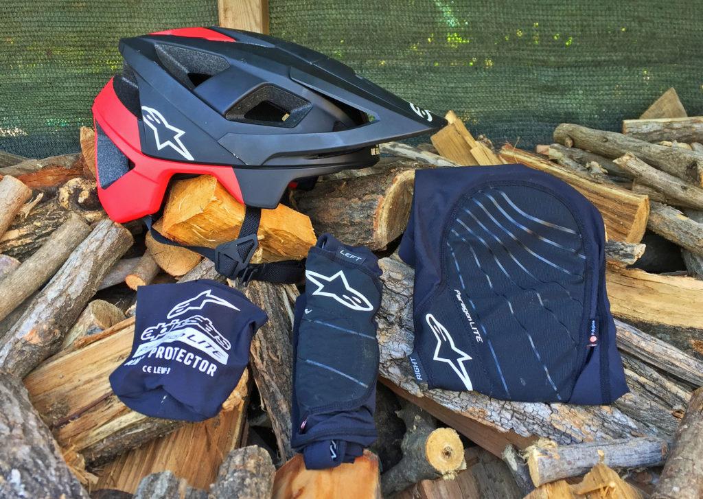 Alpinestars casco ginocchiere
