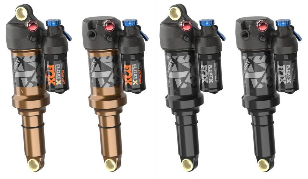 Fox 34, 34 SC, Float X e DHX 2022