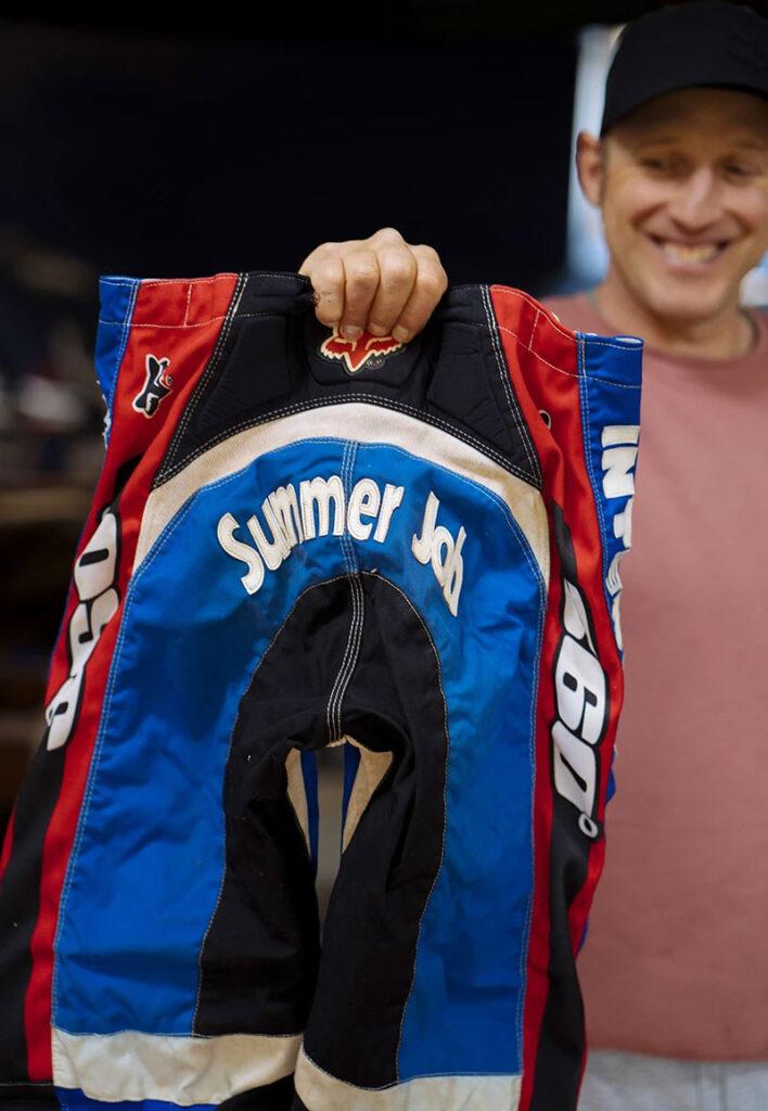 Un tesoro nascosto: il completo da gara 1996 di Shaun Palmer