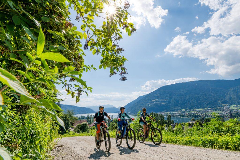 Villach in bicicletta