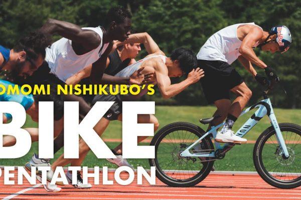 Pentathlon Challenge On a Trials Bike, Tomomi Nishikubo
